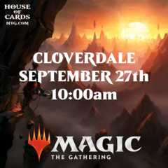 Cloverdale -Zendikar Rising Prerelease Sept 27 10:00AM