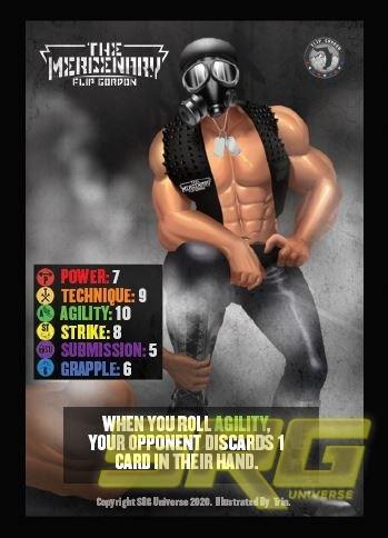 Mercenary Flip Gordon with Mask