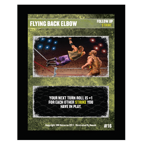 16 - Flying Back Elbow