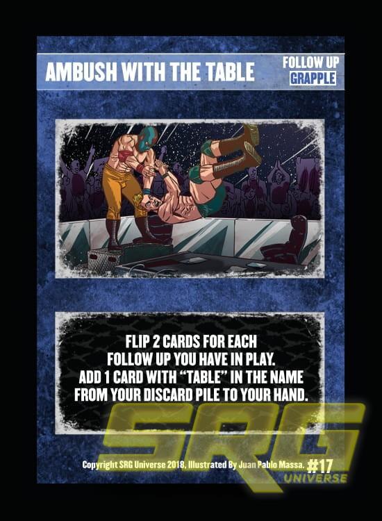 17 – Ambush With The Table (Foil)