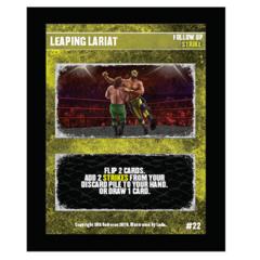 22 - Leaping Lariat