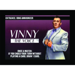 Entrance - Ring Announcer: Vinny The Voice