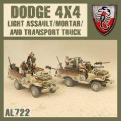 AL722 Desert Scorpions Assault/Mortar/Transport Truck