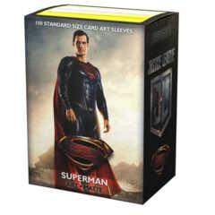 Dragon Shield Sleeves:  Matte JL Superman Art, Limited Edition (100 ct.)