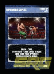 20 - Superkick Suplex