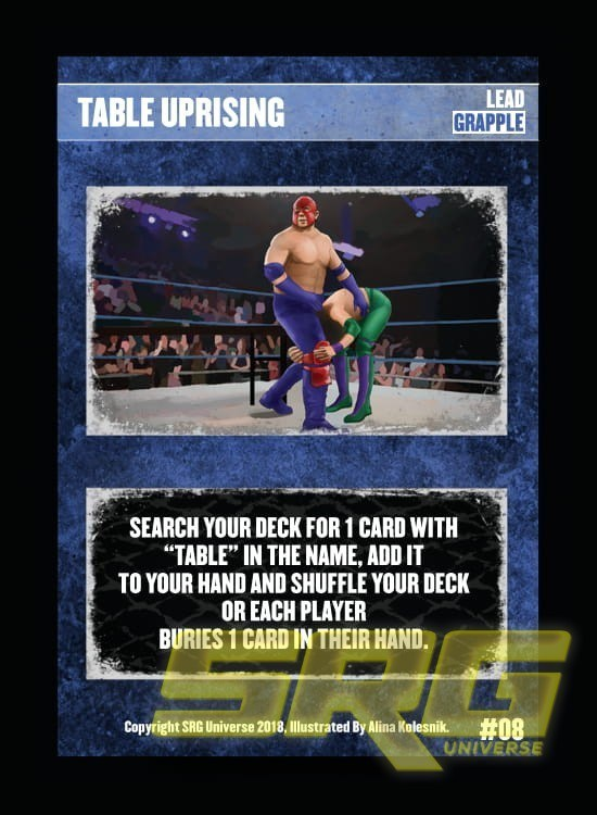 08 – Table Uprising (Foil)