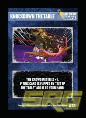 20 - Knockdown the Table (Foil)