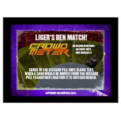 Liger's Den Stipulation Crowd Meter