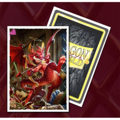 Dragon Shield Sleeves: Matte Valentine's 2020 Dragon Art, Limited Edition (100 ct.).