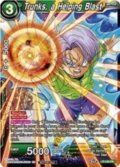 Trunks, a Helping Blast - P-128 - PR - Foil