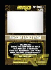 Spectacle - Ringside Assist From