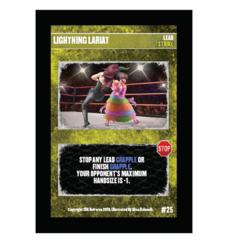 25 - Lightning Lariat