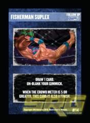14 - Fisherman Suplex
