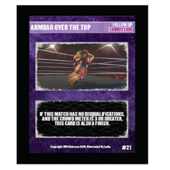 21 - Armbar Over The Top