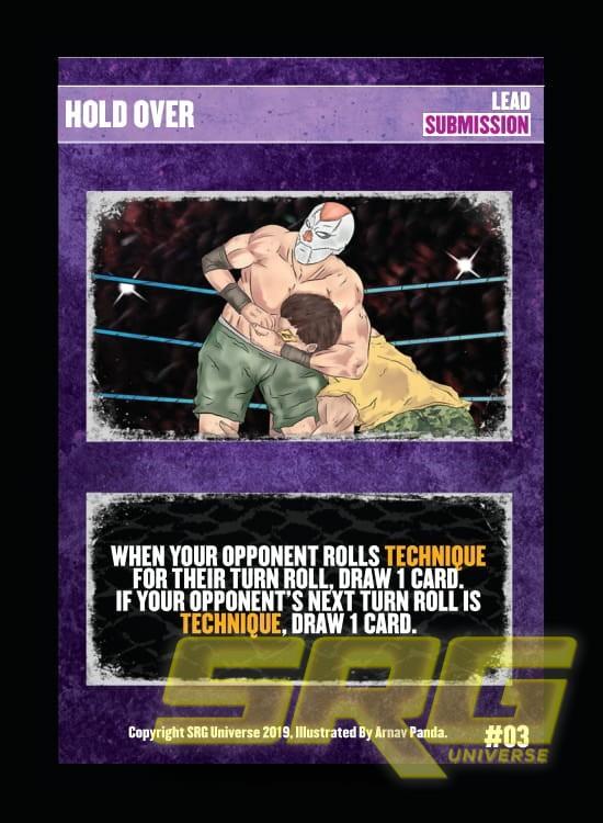 03 – Hold Over (Foil)