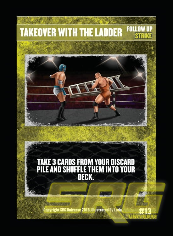 13 – Takeover With The Ladder (Foil)