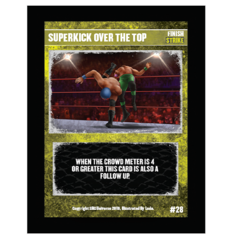 28 - Superkick Over The Top