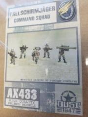 AX433 Fallschirmjager Command Squad