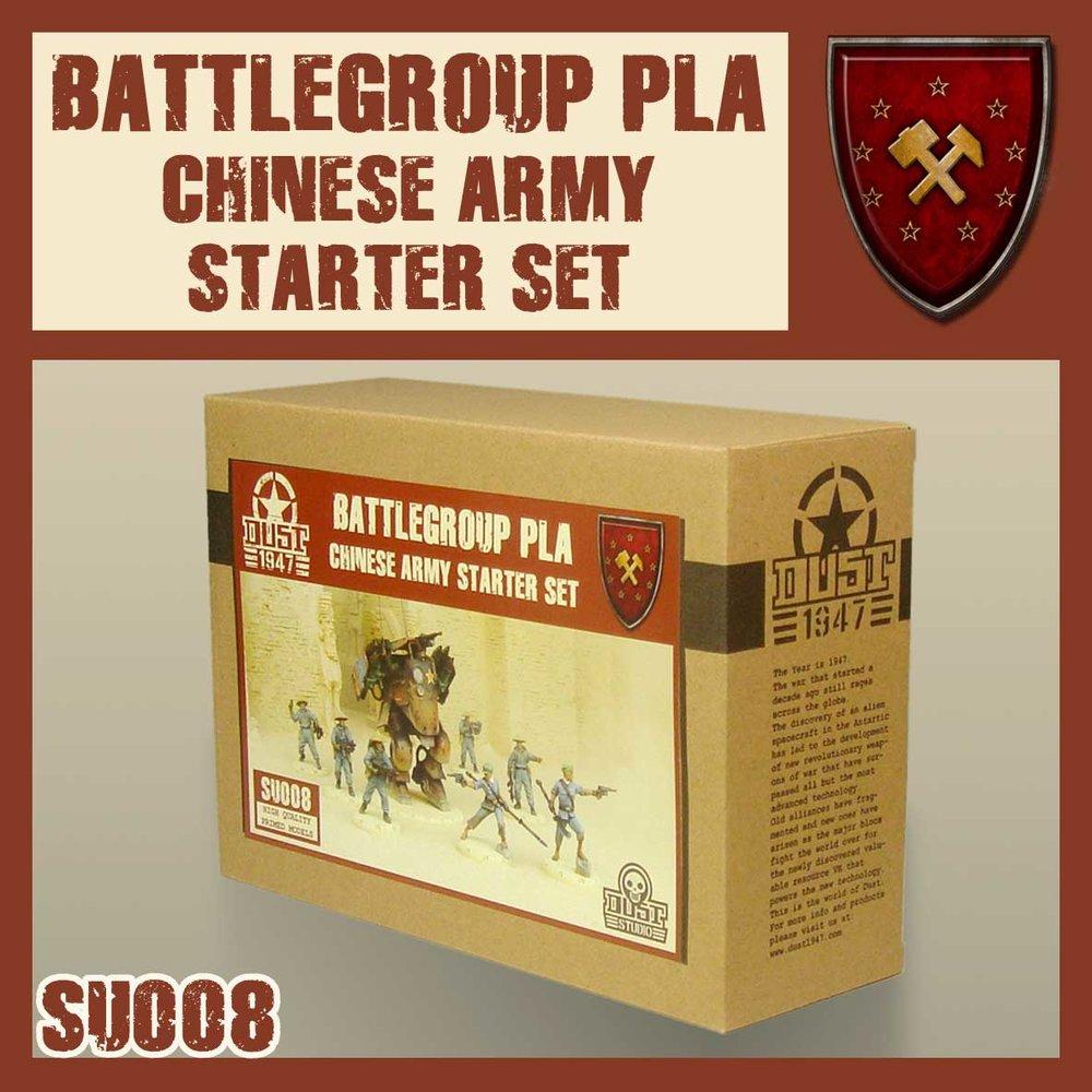 SU008 Battlegroup PLA Chinese Army Starter Set