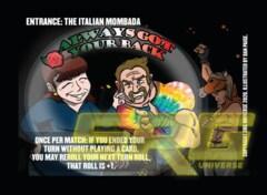 Entrance - The Italian Mombada