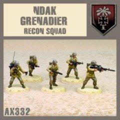 AX332 NDAK Grenadier Recon Squad