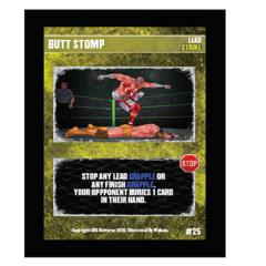 25 - Butt Stomp