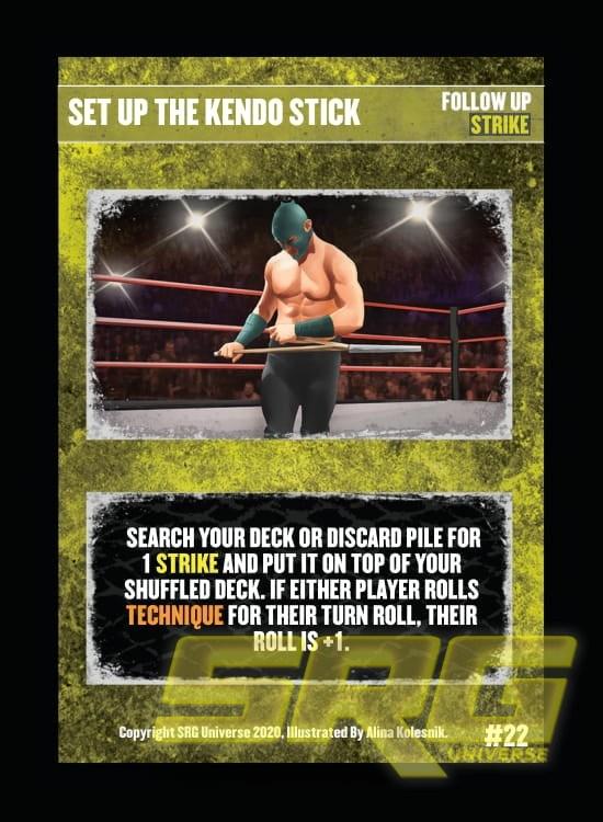 22 - Set Up The Kendo Stick