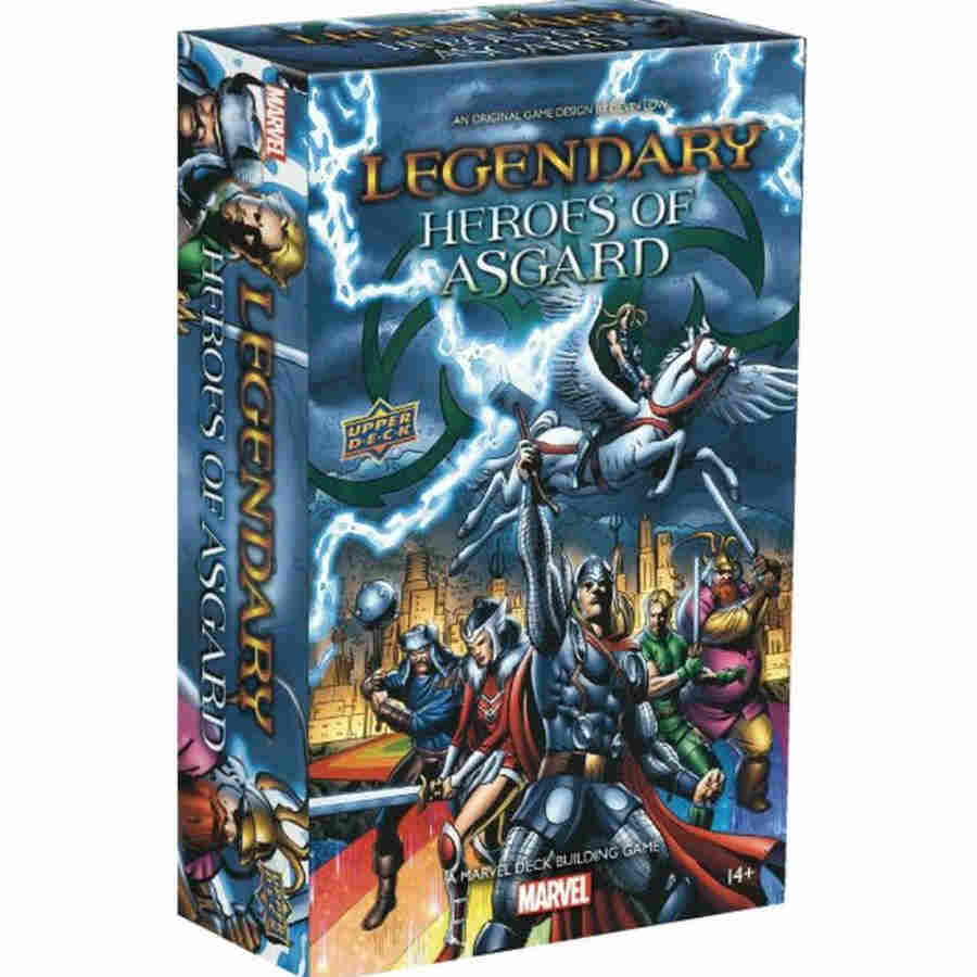 Legendary: Marvel Heroes of Asgard Deck Building