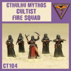 CT104 Cthulhu Mythos Cultist Fire Squad