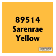 Pathfinder Master Series Paint Sarenrae Yellow 89514
