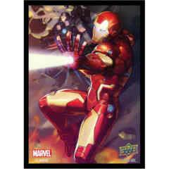 MARVEL CARD SLEEVES: IRON MAN (65CT)