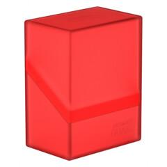 Ultimate Guard - Deck Case 60+ Boulder - Ruby