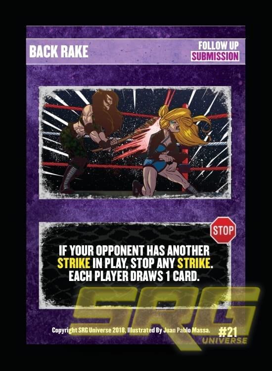 21 – Back Rake (Foil)