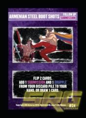 24 – Armenian Steel Boot Shots (Foil)