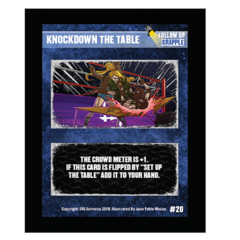 20 - Knockdown The Table