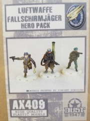 AX409 Luftwaffe Fallschirmjager Hero Pack