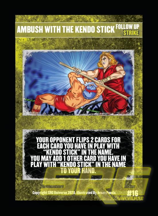 16 - Ambush With The Kendo Stick