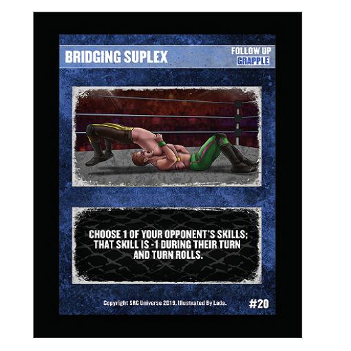 20 - Bridging Suplex