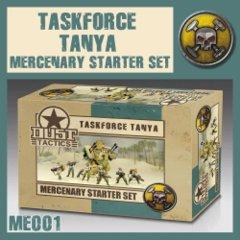 ME001 Taskforce Tanya Mercenary Starter Set