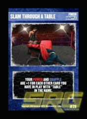 29 – Slam Through A Table (Foil)