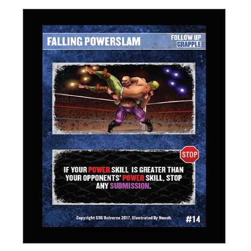 14 - Falling Powerslam