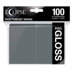 Ultra Pro - Standard Deck Protectors: Eclipse Pro-Gloss Smoke Grey 100 ct