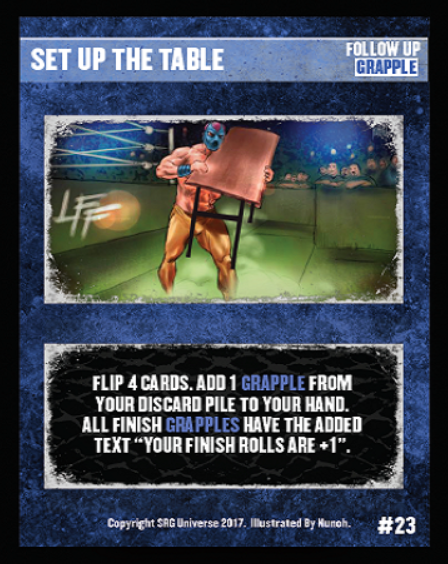 23 - Set Up The Table