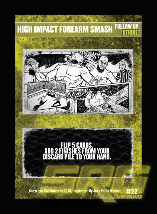 22 - High Impact Forearm Smash