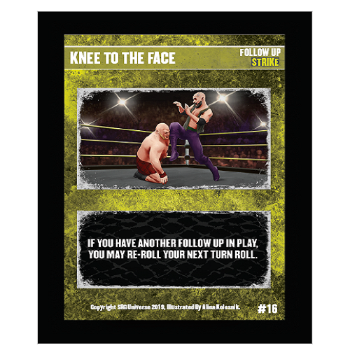 16 - Knee to the Face