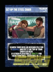 23 - Set Up The Steel Chair