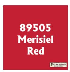 Pathfinder Master Series Paint Merisiel Red 89505