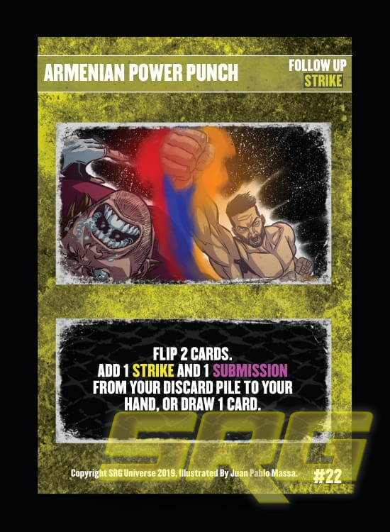 22 – Armenian Power Punch (Foil)