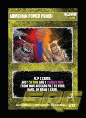 22 – Armenian Power Punch (Foil)