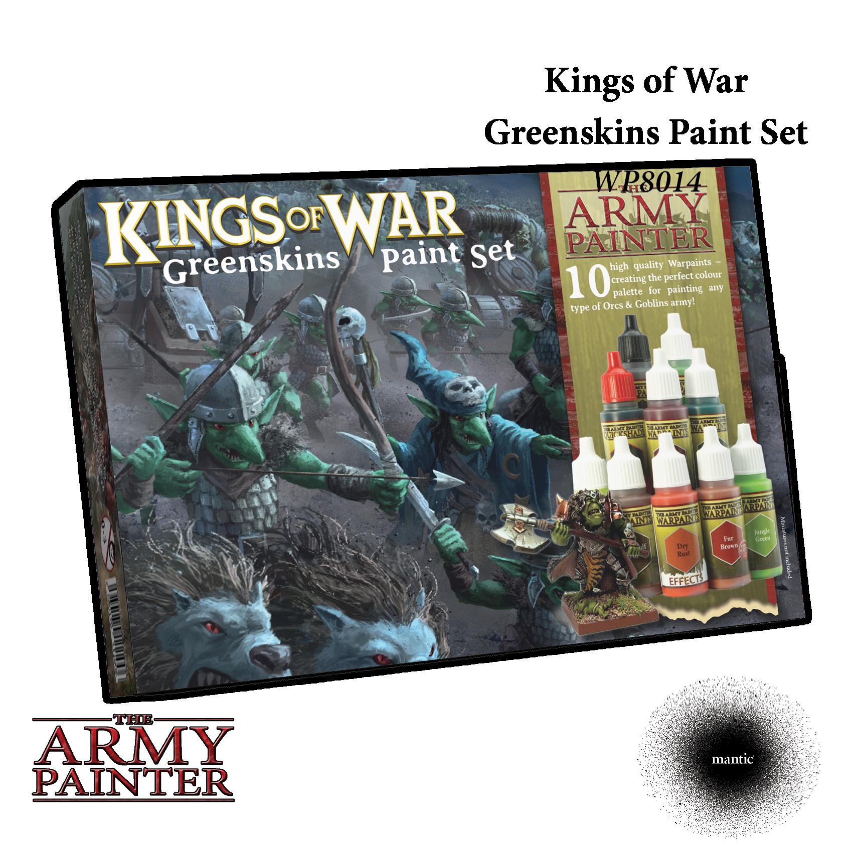 Kings of War: Greenskins Paint Set